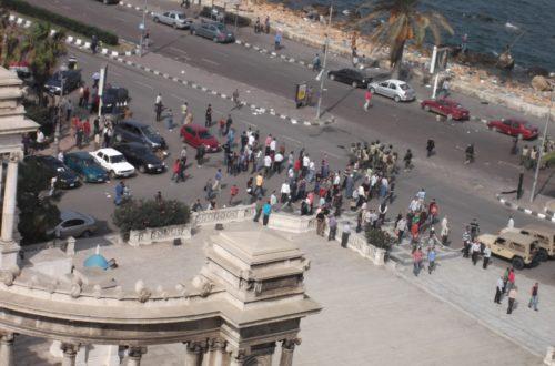 Article : Egypte : la tension a monté, Morsi un nouveau voisin d'Alexandrie