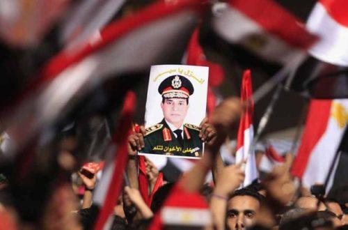Article : En Egypte, l'amour fou pour le général